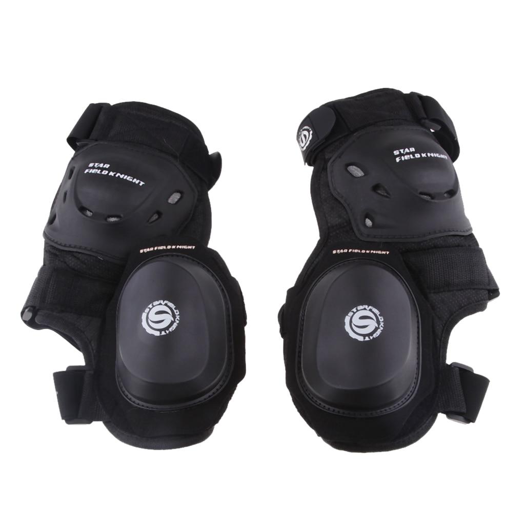 Adult Knee/& Shin Armor Protector Guard Pads for Motorcycle Motocross Bike Racing
