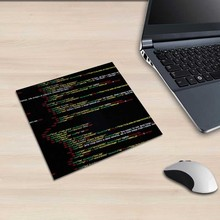 XGZ Square Mouse Pad Software Programming Code Pattern PC Table Mat Programmer Anti-skid Rubber Printing Universal Type