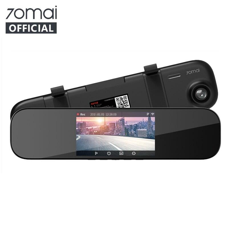 70mai Cam-Mirror DVR Parking-Monitor Smart-Car English-Version 24H 1600P