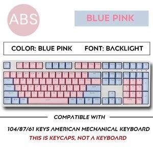 Image 5 - الكرز Vlossom الموضوع العلوي مطبوعة 104 مفتاح مفاتيح مفاتيح قبعات مجموعة للوحة المفاتيح الميكانيكية لوحة مفاتيح الألعاب الميكانيكية