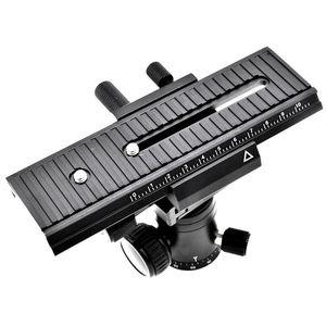 """Image 2 - 2 maneira móvel lp 01 macro com foco ferroviário slider para canon nikon sony pentax dslr câmera 1/4 """"parafuso com foco acessórios"""