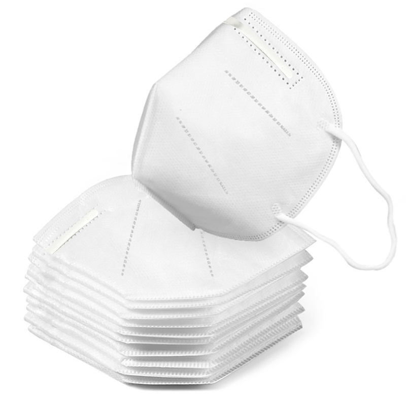 Image 2 - 10pcs KN95 Medical Masks 3 Layers Fine Air Filter Dust Face Mask  KN95 Personal Protect Home Health Care Mask In Stock