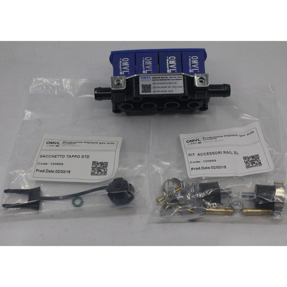 Injectors Rail for OMVL REG 4CYL Injectors Rail Fuel Inject. Controls & Parts     - title=