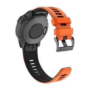 Image 5 - 22 26MM Release Quick Watchband for Garmin Fenix 6 6S 6X Pro 20mm Silicone Easyfit Wrist Band For Fenix 5 5S 5X Plus Watch Strap