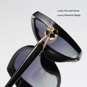 Image 5 - SIMPRECT Polarized Sunglasses Women 2020 Oversized Sunglasses Retro Square Sun Glasses Luxury Brand Designer Shades For Women