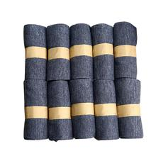 Socks mens solid color 10 pairs / set of pure cotton summer casual breathable middle tube socks odor proof solid color socks