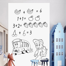 Whiteboard Sticker Eraseable Teaching Wall Self-Adhesive Baby-Room Writing Kids for Decal