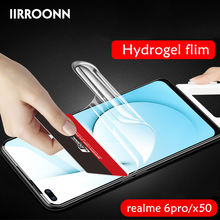IIRROONN Hydrogel Film Screen Protector For OPPO realme 6pro X50 pro Full Cover Hydrogel Film For Realme 6Pro realme X3 Hydrogel