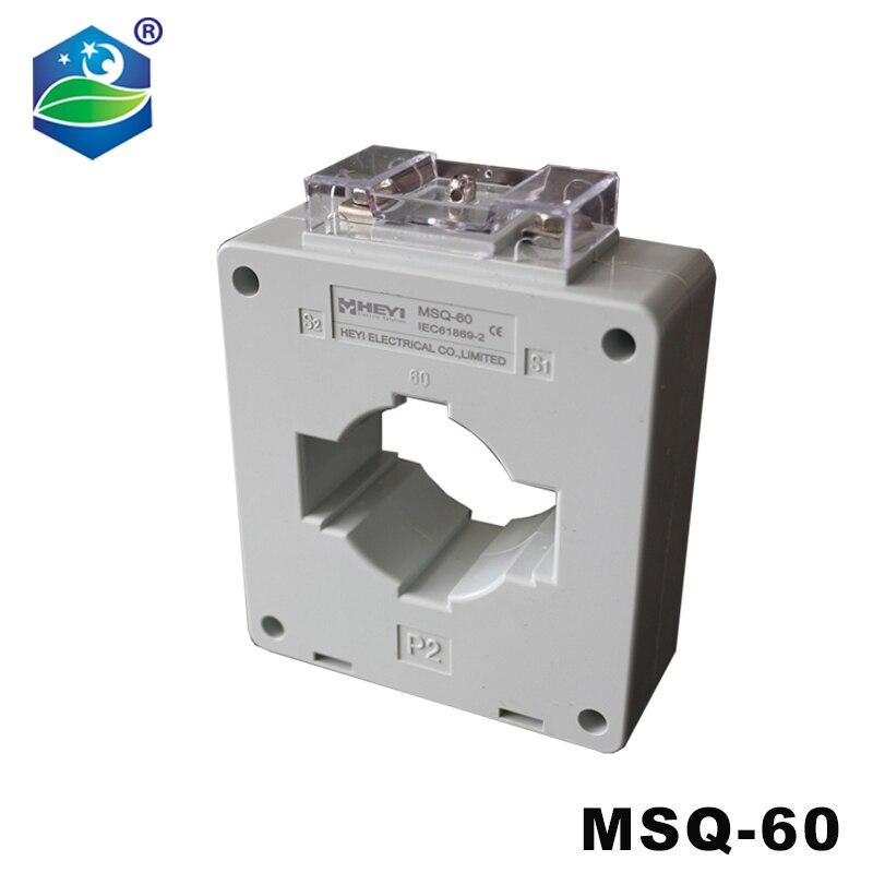 500/5A 250A 400A 600A 750A 800A 1000A MSQ-60 однофазный тороидальный трансформатор тока с сертификатом CE, тип кольца CT класс 0,5/1