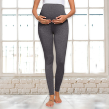 Maternity BreathableCotton Legging Pregnancy Solid Stretchy Slim Pants for Pregnant Women High Waist Trousers S-XL