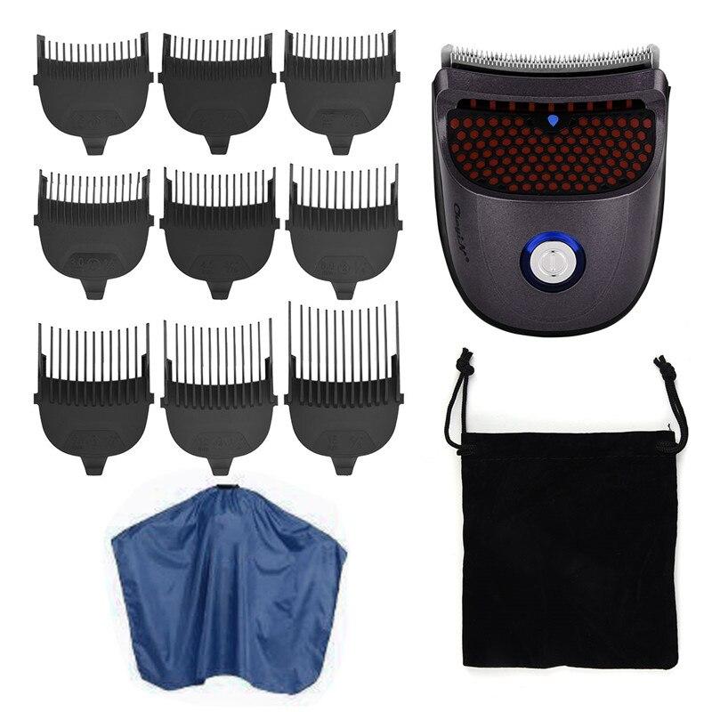 Bald Head Men's Hair Clipper Shortcut Self-Haircut Kit Hair Trimmer Cordless Rechargeable Hair Wide Cutter Shaving Machine P40