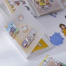40 Sheets A6 Cards Pocket Book Large Capacity Organizer Memo/Bills/Ticket/Stickers Bag Holder Stationery Supplies