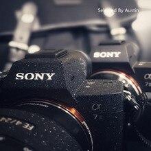 Anti kras laag Camera Skin Wrap Cover Protector Dragen Case Zwart Voor Sony A7R4 A7R3 A7M3 A7R2 A7M2 A7 a6500a6400 a6000