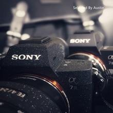 Anti scratch schicht Kamera Haut Wrap Abdeckung Protector Tragen Fall Schwarz Für Sony A7R4 A7R3 A7M3 A7R2 A7M2 A7 a6500a6400 a6000