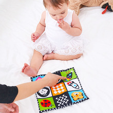Newborn-Toys Baby Soft Cloth Learning-Cognize-Cloth-Books Rustle Intelligence 0-12 Kid