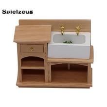 1:12 весы кукольный домик миниатюрная мебель деревянная кухонная плита Шкаф в ванную комнату шкаф набор мини кухонный аксессуар# p4