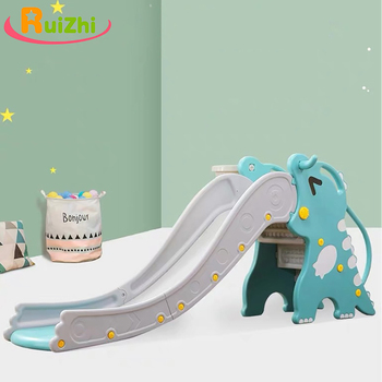 Ruizhi Children Thickened And Lengthened Cute Dragon Slide Baby Home Indoor Small Amusement Park Kids Outdoor Sports Toys RZ1188