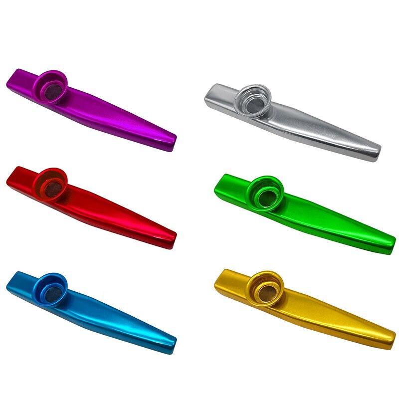 Новинка, 1 шт., металлическая Kazu флейта, губная гармошка, для начинающих детей, для взрослых, вечерние, подарок, музыкальный инструмент, детск...