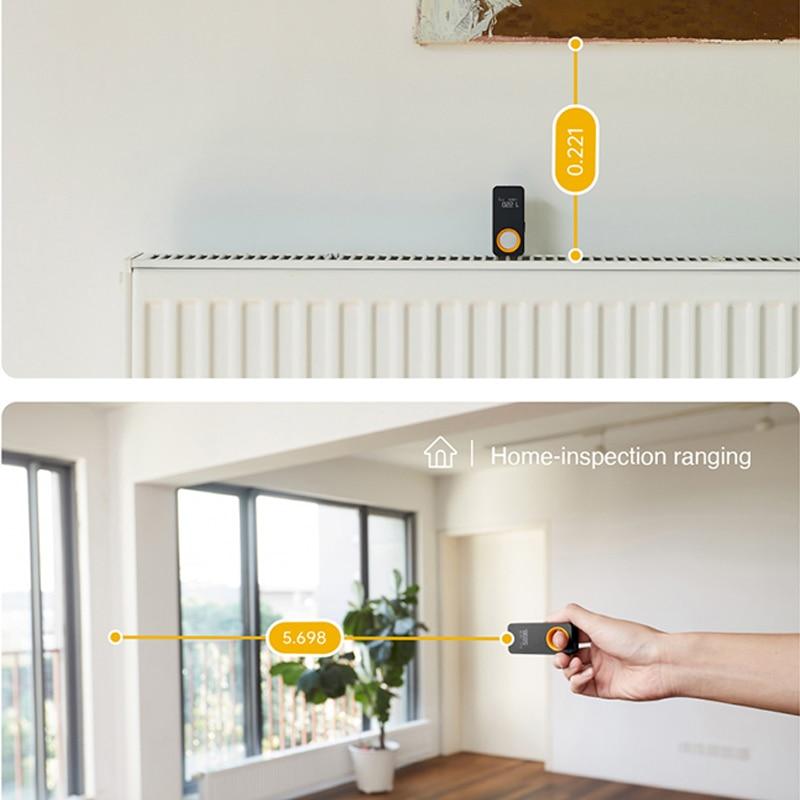 ตลับเมตรเลเซอร์ วัดระยะทาง Rangefinder 30M หน้าจอแสดงผล OLED วัดระยะห่างด้วยแสงเลเซอร์ เชื่อมต่อโทรศัพท์มือถือ