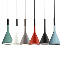 Multicolor Iron Pendant Lights E27 LED Parlor Bedroom Hanglamp Restaurants Kitchen Bar Hanging Lamps Indoor Lighting Loft Decor