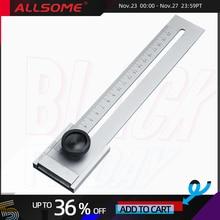 ALLSOME 200mm/250mm/300mm Vít Cắt Đánh Dấu Đo Mark Cạp Dụng cụ Chế Biến Gỗ Đo HT2438 2440
