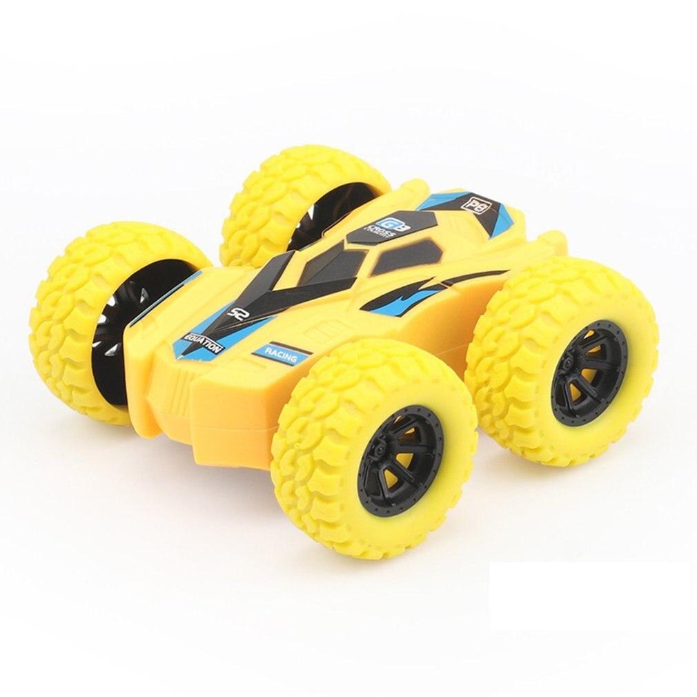 Детский инерционный двухсторонний самосвал устойчивый к падению 360 Вращающийся игрушечный автомобиль превращающийся в подарочные игрушки...
