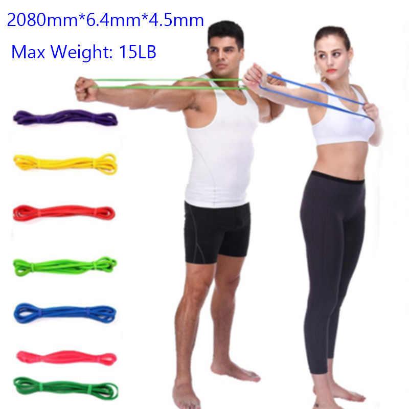 2080mm gumowe taśmy oporowe Pull Up gumy do ćwiczeń Gum Fitness elastyczne zespoły treningowe sprzęt do ćwiczeń sportowych Gym Expander