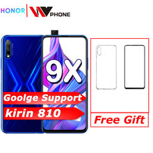 Honor 9x Smart Phone kirin 810 6.59 inch Lifting Full Screen 48MP Dual Cameras 4