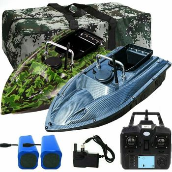 500M LED RC karpia przynęta na ryby łódź Fishfinder łódź motorowa karp haczyk na ryby Post łódź z pozycją GPS + Camo torebka i 2 baterie tanie i dobre opinie CN (pochodzenie) 3 7 V Bateria litowo-jonowa Angielski Others