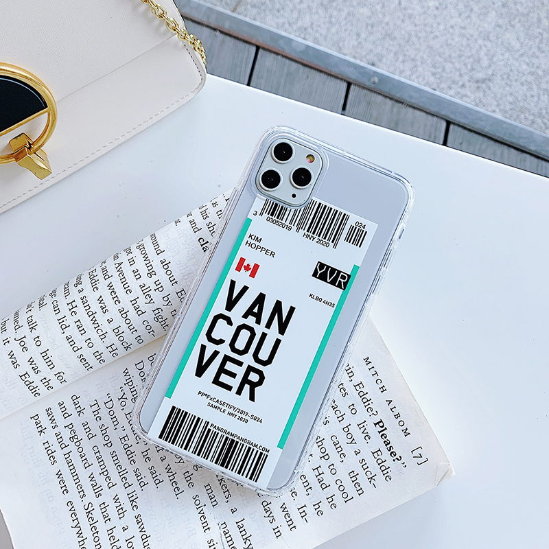 Funny Bar Label Case for iPhone SE (2020) 47