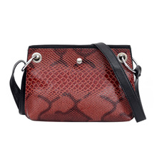 2019 Autumn New Snakeskin European and American Fashion Contrasting Color Women's Small Foreign Trade Wholesale платье foreign trade 2014