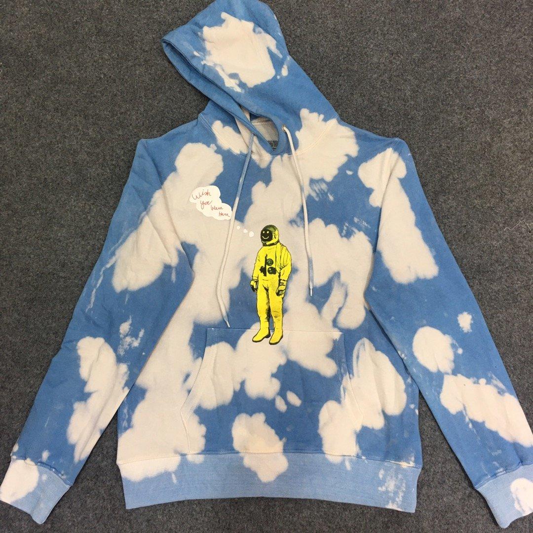 2020 Brand New Travis Scott Astroworld Astronaut Tie Dye Hoodie Men Women Hooded Sweatshirts Hiphop Oversize Men Hoodies