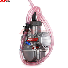 цена на new 30mm Motorcycle Carburetor PWK30 Carb For 150cc 200cc 250cc 4T four stroke Engine Scooter Dirt Pit Bike ATV Quad