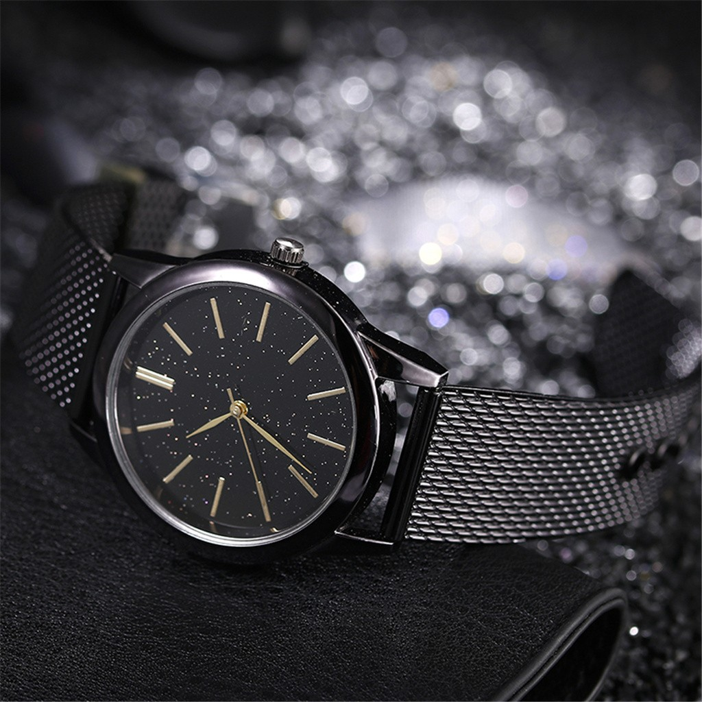 New Top Star Watches Embellishment Special DesignWatch Men's Net Belt Watch Wild Men's Watch Romantic Gift Relogio Masculino