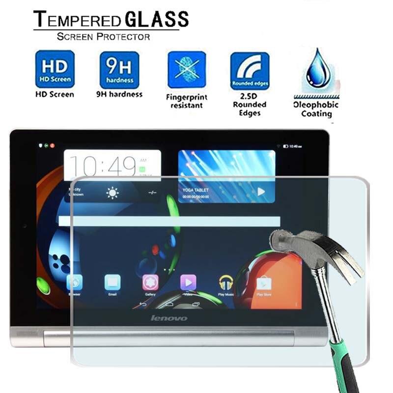 Per Lenovo Tablet Yoga 10 HD + -Premium Tablet 9H Vetro Temperato Pellicola Della Protezione Dello Schermo Della Protezione Della Protezione Della Copertura