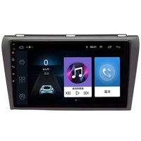 For Mazda 3 2006 2012 Maxx Axela Android 8.1 Car DVD GPS Radio Stereo 1G 16G WIFI Free MAP Quad Core 2 Din Car Multimedia Player