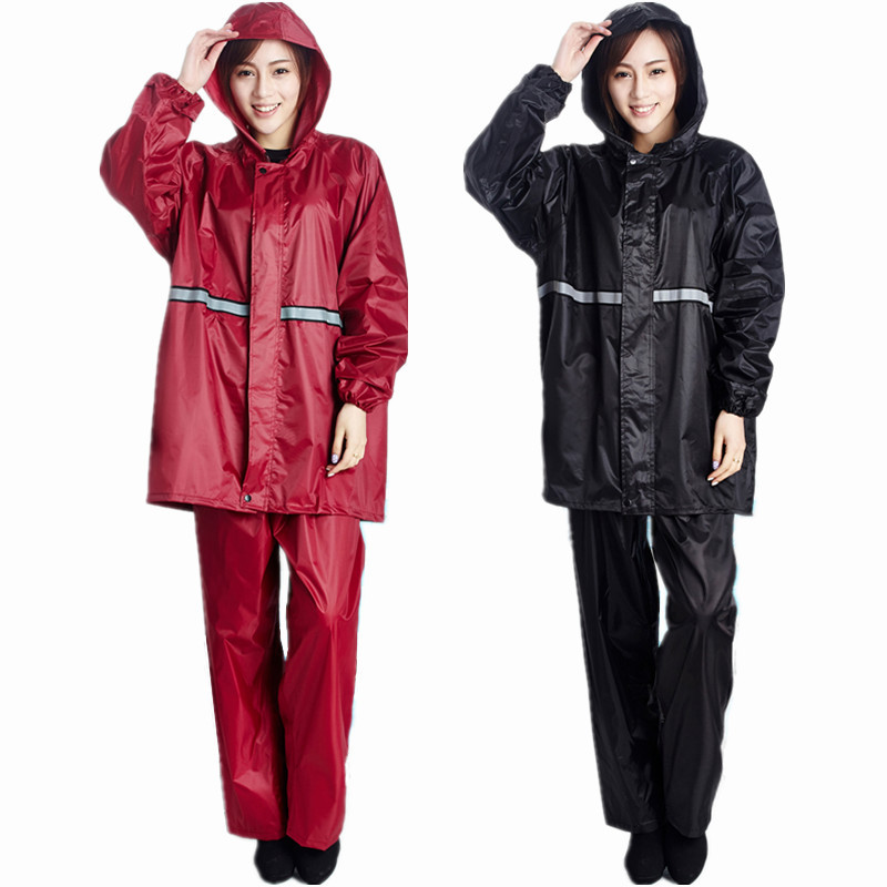 Raincoat and rainpants women men adult non disposable raincoat manufacturers wholesale labor insurance package in Raincoats from Home Garden