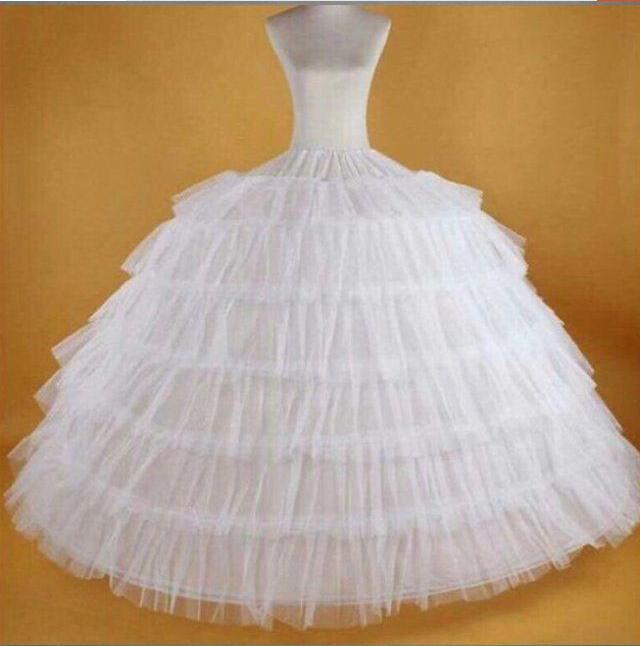 Fmogl Новое поступление 6 обруч Нижняя юбка для бального платья свадебное платье 2020 нижнее белье кринолин свадебные аксессуары размера плюс