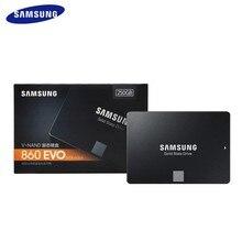 Samsung Ssd 860 Evo 250Gb 500Gb 1Tb 2Tb 4Tb 2.5 ''Solid State Drive Interne hard DriveSATA3 Voor Laptop Desktop Pcr