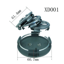 Car Accessories 4pcs Wheel Hub Center Cover For Hyundai Car Modification with logo
