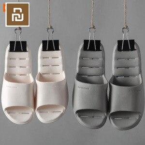 Image 1 - Youpin ופושים נעליים קלות נוח אמבטיה להחליק נעל Mijia נעלי לזכר נקבה כפכפים 6 צבעים