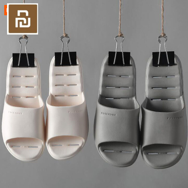 Youpin ופושים נעליים קלות נוח אמבטיה להחליק נעל Mijia נעלי לזכר נקבה כפכפים 6 צבעים