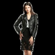 Женские куртки из искусственной кожи на весну и осень женские