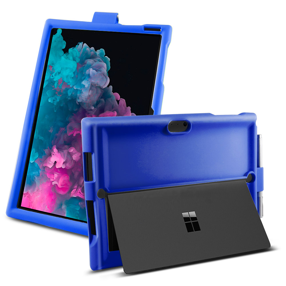 6 7 caso tablet silicone capa áspera