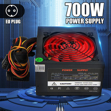 Fan Power-Supply Gaming SATA 700W PC Atx 12v New for BTC 12CM