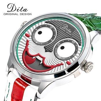 ¡Novedad de 2020! Reloj con motivo de joker para hombre, relojes de cuarzo de aleación con personalidad de marca de lujo para hombre, reloj de diseño de edición limitada