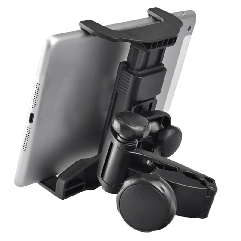 Tablet Holder <font><b>360</b></font> Rotating Headrest Mount PC Stand Car Back Seat Support 7 Inch 8 Inch <font><b>10.1</b></font> Inch image