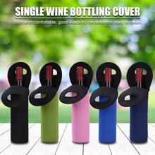 Wine-Bottle-Cover Neoprene Protective-Sleeve Red Dust-Proof Wine-Hand-Held Drinks