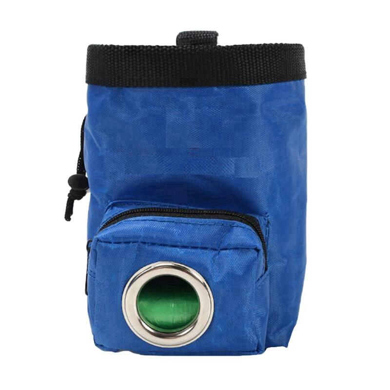 Сумка для тренировок собак, для питомцев, тренировочная сумка для прогулок, для собак, для улицы, переносная сумка для закусок, поясная сумка - Цвет: Blue