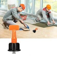50pcs/set Floor Wall Tile Leveling System Level Wedges Tile Spacers Mini Leveler Locator